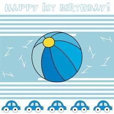 Free Happy 1st Birthday! Royalty Free Stock Photography - 14487587