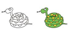Free Cute Snake Royalty Free Stock Images - 14487639