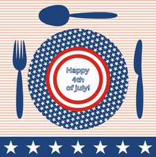 Free Happy 4th Of July! Royalty Free Stock Photography - 14487797