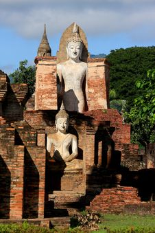 Free Sukhothai In Thailand Royalty Free Stock Photography - 14488137