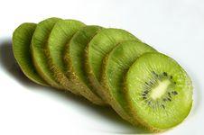 Free Sliced Kiwi Royalty Free Stock Photography - 14488237