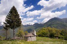 Free Alpine Landscape Stock Photo - 14488260