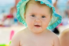 Free Baby With Food All Over The Face Royalty Free Stock Photography - 14489377