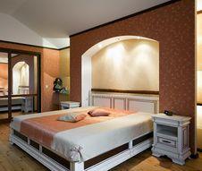 Free Beautiful Bedroom Interior Royalty Free Stock Photo - 14489705