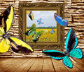 Free Flying  Butterfly Royalty Free Stock Image - 14499266