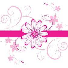 Free Abstract  Floral Background Royalty Free Stock Photography - 14490087