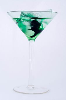 Free Green Cocktail Royalty Free Stock Image - 14490226