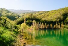 Free Lake In Mountains Stock Photo - 14490500