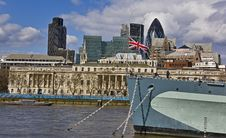 Free London View Royalty Free Stock Photos - 14490718