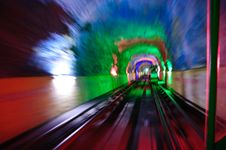 Free Railway Tunnel In Guilin, China Stock Photos - 14491243
