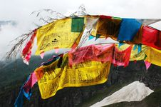 Free Prayer Flags Stock Photography - 14491922