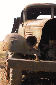 Free Old Rusty Truck Stock Photo - 14491950