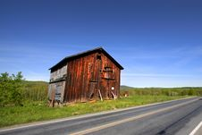 Free Old Barn Royalty Free Stock Image - 14492006