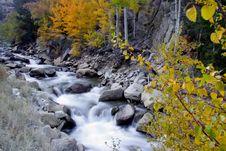 Cascade Falls Royalty Free Stock Photography