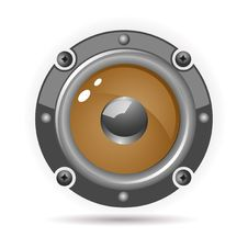 Speacker Icon Royalty Free Stock Image