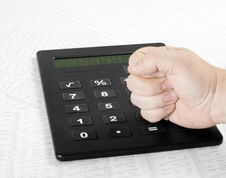 Free Fist And Numbers Stock Photo - 14492440