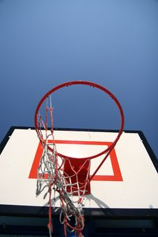 Free Basketball Hoop Stock Photography - 14493082