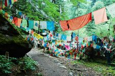 Free Prayer Flags Royalty Free Stock Images - 14493259