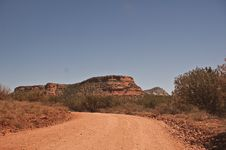 Free Dirt Road Into Sedona S Red Rock Country Royalty Free Stock Photography - 14493537