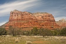 Free Courthouse Butte Royalty Free Stock Photo - 14493545