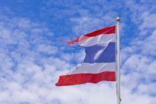 Thai Flag Royalty Free Stock Photos