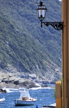 Free Italian Riviera View Stock Images - 14494184