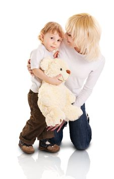 Free Young Mother And Little Son Royalty Free Stock Images - 14494459