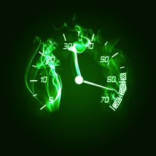 Free Burning Odometer Stock Photos - 14494483