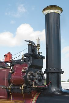 Free Vintage Steam Engine Royalty Free Stock Images - 14494729