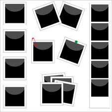 Free Polaroids - Blank Stock Image - 14495411