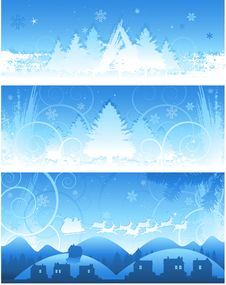 Free Christmas Banner Background Stock Image - 14495861