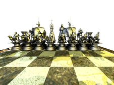 Free Black Chessmen Stock Photo - 14497780