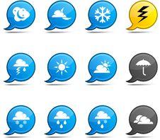 Free Weather Comics. Stock Photography - 14498552