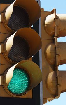 Free Traffic Lights Royalty Free Stock Photos - 14499818