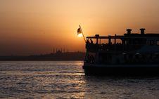Free Bosphorus Sunset Stock Photo - 14499840