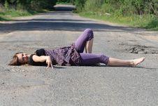 Free Hitchhiking Stock Photography - 14499862