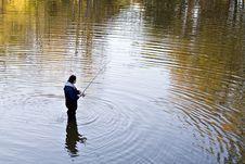 Free Autumn Fisherman Stock Photos - 1451753