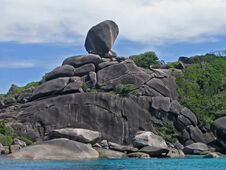 Similan Island, Thailand Stock Photos