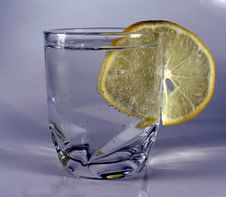 Free Water And Lemon Royalty Free Stock Images - 1452719