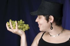 Free Model - Grape Stock Photo - 1453490