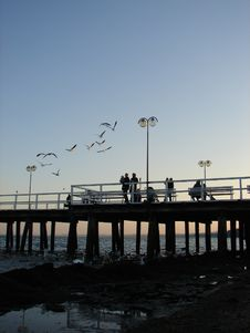 Free Sopot Walkway Royalty Free Stock Image - 1453876