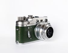 Free Old Russian Camera Royalty Free Stock Photos - 1453878