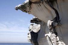 Free Ocean Rocks Royalty Free Stock Photo - 1454565