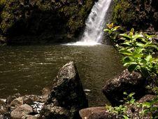 Tropical Falls Stock Photo