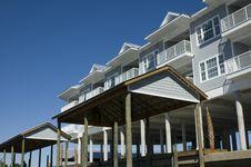 Free Beach Condos Stock Image - 1454681