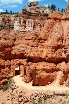 Free Desert Trail Entrance Way Stock Photos - 1454683