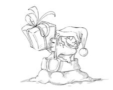 Free Little Santa Claus Stock Photos - 1454753