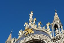 Basilica Di San Marco Royalty Free Stock Photo