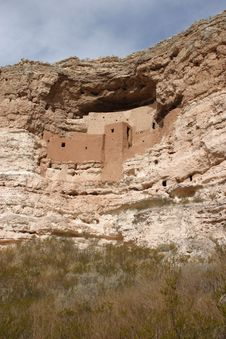 Free Montezuma Castle Royalty Free Stock Image - 1454816