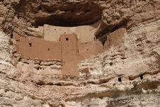 Montezuma Castle Royalty Free Stock Image